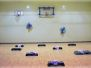 Progimnazijoje atnaujinta sporto salė
