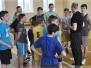 Mūsų progimnazijoje prasidejo sportiniai renginiai skirti Lietuvos valstybės ir nepriklausomybės dienai paminėti