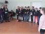 Svečiuose pas savo draugus Virbalio pagrindinėje mokykloje